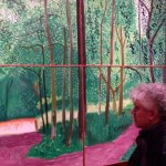 "Almodóvar contemplando ""Woldgate Woods, 26, 27 & 30 July 2006"""
